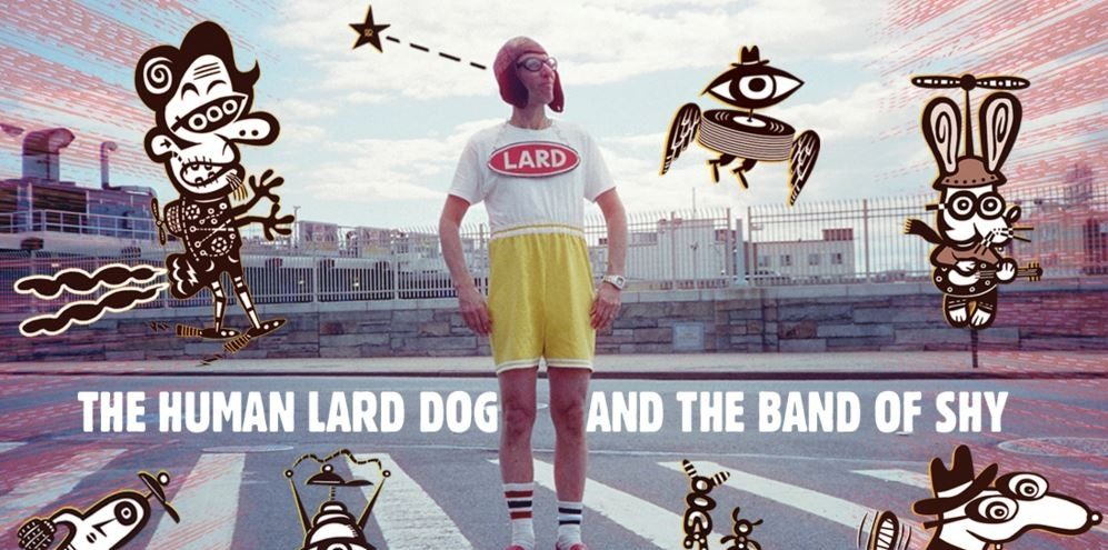 Crank up the Tunes and Catch That Pretzel With Lard Dog